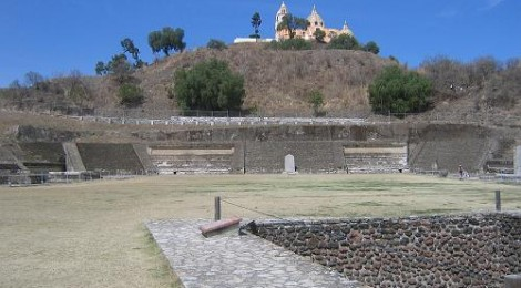 John Farah & John Dubinski perform GRAVITAS at the Great Pyramid of Cholula, Mexico