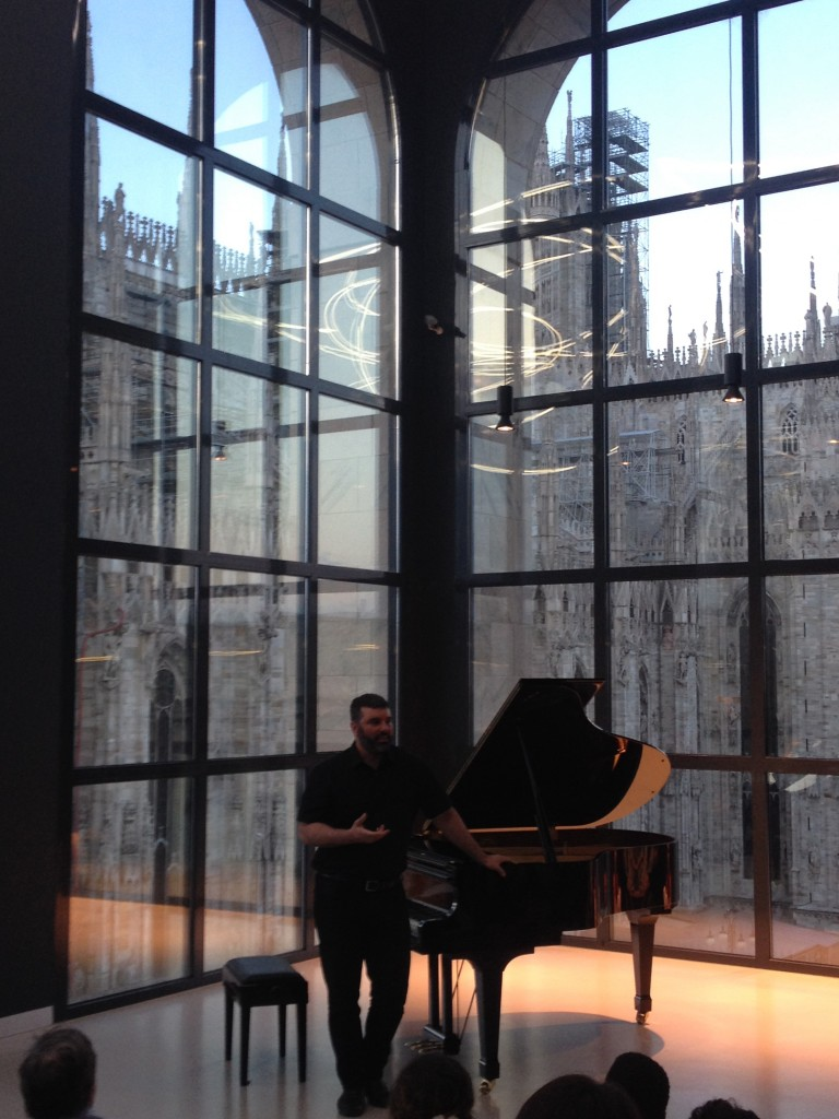 piano city festival, museo del 900