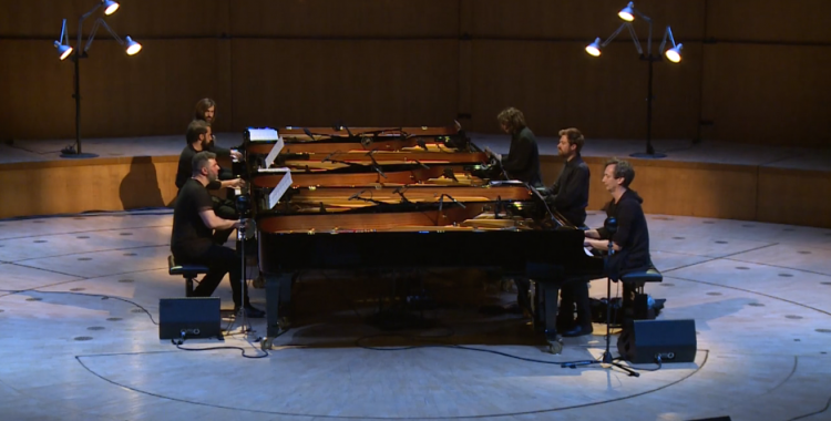 Six Pianos at the Kölner Philharmonie