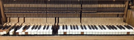 The Bass Piano: video of an improvisation on a de-tuned piano