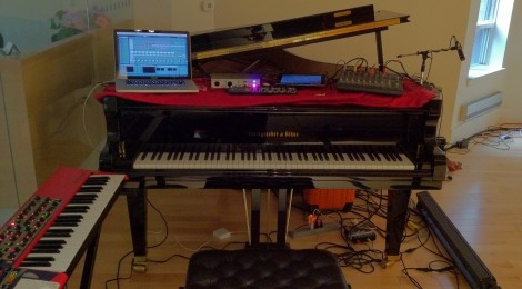 SoundStreams Electronic Composer Residency: 1st Blog post